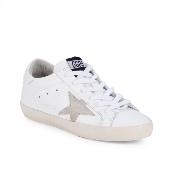Golden Goose Star Patch Leather
